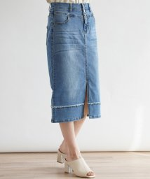 LASUD/[soeur7] ストレッチデニム セミタイトスカート/503082362