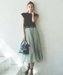 Noela/シアープリーツスカート /503088519