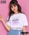 ANAP GiRL/ホログラムワッペンクロップドTシャツ/503089274