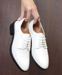 SFW/おじ靴、美脚マニッシュレースアップシューズ/5433/503089772