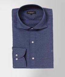 BLACK LABEL CRESTBRIDGE/コットンリネンホリゾンタルカラーシャツ/503090545