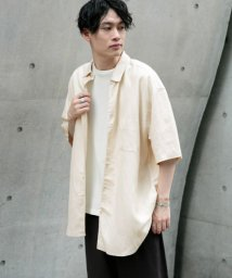 SENSE OF PLACE by URBAN RESEARCH/リネンレーヨン レギュラーシャツ/503090664