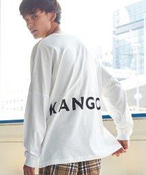 Rocky Monroe/KANGOL カンゴール ロングTシャツ メンズ ユニセックス 長袖 ドルマンスリーブ ビッグシルエット オーバーサイズ 米綿 USAコットン 別注 限定 プリ/503090985