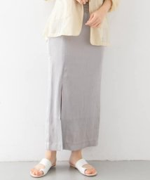 KBF/シャイニーフロントスリットスカート/503091351