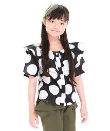 UNICA/【2020春夏】オフショルドットシャツ 110~140/503023718