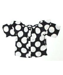UNICA/【2020春夏】オフショルドットシャツ XS~M/503023719