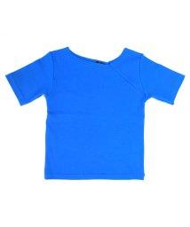 UNICA/【2020春夏】アシンメトリーリブTシャツ 110~140/503023744