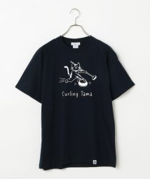 POCHITAMA LAND/Curling Tama Tシャツ/503046356