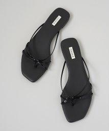FIKA./CHEMBUR Cross flat sandal/503075696