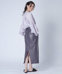 FIKA./JANE SMITH Leather Skirt/503075708