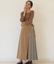 FIKA./FIKA. Side check skirt/503075711