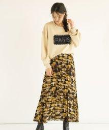 FIKA./FIKA. Pattern×Pleats Skirt/503075722