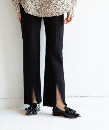 marjour/FRONT SLIT PANTS/503090374