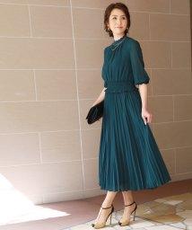 reca/ウエストシャーリング ロングワンピースドレス/503091097