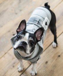 Rocky Monroe/ドッグウェア 犬服 ペット プルオーバーパーカー ペーパーハンガー付き プリント リフレクター 反射材 愛犬 小型犬 中型 フレンチブルドッグ 綿 コットン 裏/503091578