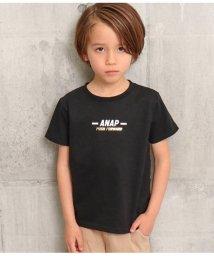 ANAP KIDS/箔ボックスプリントTシャツ/503091770