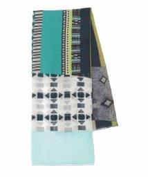 HIROKO BIS/【洗える】ミックスカラーストライプデザインスカーフ/503091938