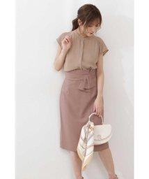 PROPORTION BODY DRESSING/ラスティックリボンタイトスカート/503092003