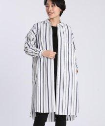 I.T.'S. international/ストライプロングシャツ/503092043