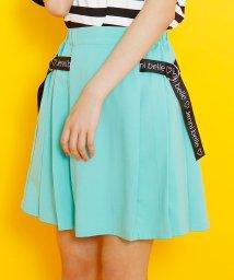 JENNI belle/【WEB限定】プリーツロゴベルトスカート/503092544