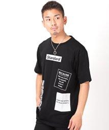 LUXSTYLE/ロゴプリントBIGTシャツ/Tシャツ メンズ 半袖 フォト プリント ロゴ ビッグシルエット/503092623