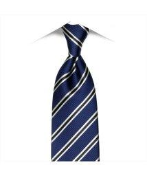 BRICKHOUSE/ネクタイ 日本製 絹100% ブルー系 ビジネス フォーマル/503092656