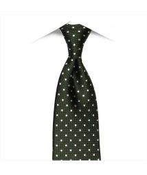BRICKHOUSE/ネクタイ 日本製 絹100% グリーン系 ビジネス フォーマル/503092667