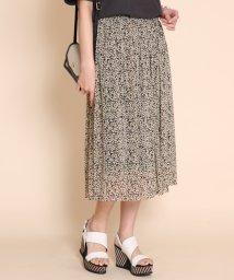 SCOTCLUB/Bouchon(ブション) フラワープリントメッシュスカート/503092713