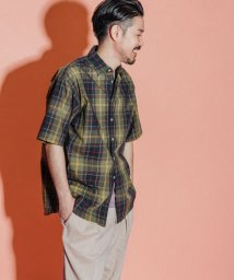 URBAN RESEARCH DOORS/【別注】Barbour×DOORS OVERSIZED SHORT-SLEEVE SHIRTS/503093059