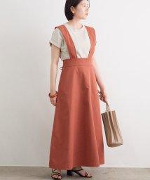 ViS/【WEB限定】ハイウエストジャンパースカート/503093102
