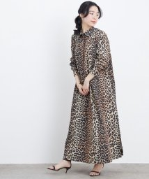 ADAM ET ROPE'/【GANNI】PRINTED COTTON POPLIN MAXI DRESS/503093567