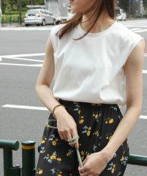 ROPE' mademoiselle/<新色追加>【Sophia】スムースノースリーブTシャツ/503093880