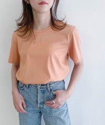 ROPE' mademoiselle/【Sophia】スムースサイドスリットレギュラーTシャツ/503093881