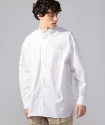 TOMORROWLAND MENS/ブリティッシュポプリン オーバーサイズ ボタンダウンシャツ THOMAS MASON ARCHIVE FIT/503094163