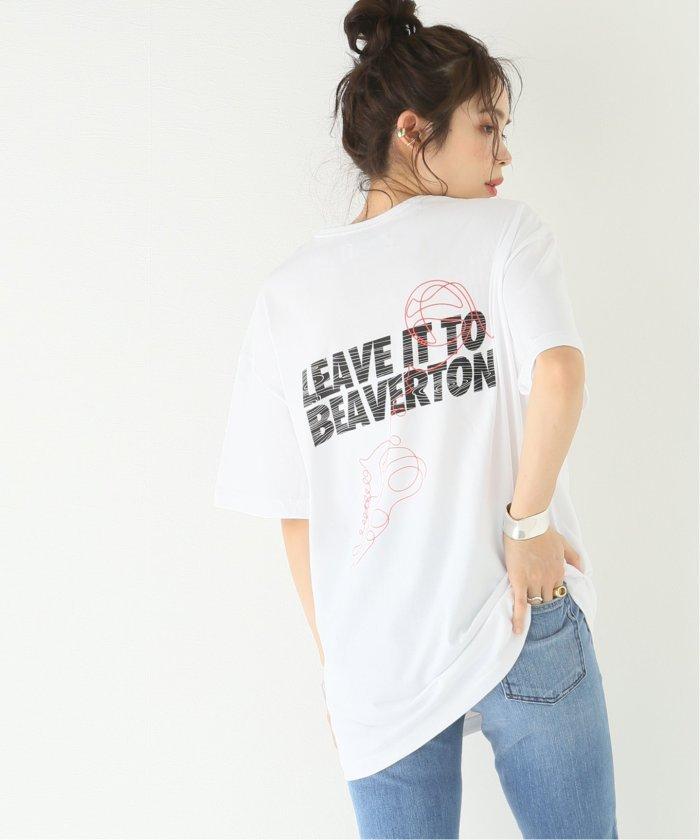 ジャーナルスタンダード LEEAVE IT TO TEE:Tシャツ レディース ホワイト M 【JOURNAL STANDARD】