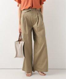 Spick & Span/【KALLMEYER】 Deep Pocket Belted Wide Leg Pants/503094659