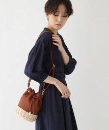 AG by aquagirl/【2WAY】ラタンコンビ巾着バッグ/503094742