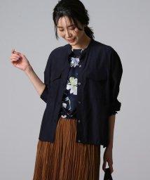 UNTITLED/【洗える】ライトシアーシャツジャケット/503094904