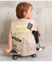 ANAP KIDS/ネックダメージ両面プリントTシャツ/503095257
