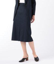 DES PRES/【セットアップ対応商品】リネンナイロンストレッチ トラペーズスカート/503106064