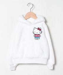 LEVI'S LADY/【KIDS】Hello Kitty Sherpa Hoodie Whit/503045478