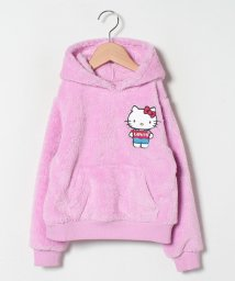 LEVI'S LADY/【KIDS】Hello Kitty Sherpa Hoodie Pink/503045479