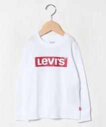 LEVI'S LADY/【KIDS】LS BOX TAB TEE WHITE/503045489