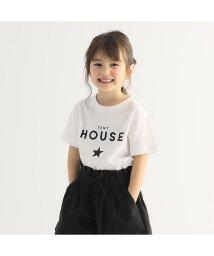 b-ROOM/ロゴスタープリントTシャツ/503067702