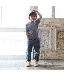 b-ROOM/【PEANUTSコラボ】 バックプリントロゴTシャツ/503067704