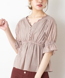 NICE CLAUP OUTLET/【every very nice claup】ドビーブラウス/503035558
