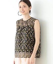 Demi-Luxe BEAMS/Demi-Luxe BEAMS / 刺繍 オーガンジー プルオーバー/503040568