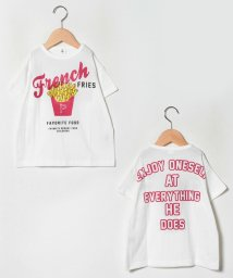 JEANS‐b2nd/French FRIESビッグTシャツ/503045322