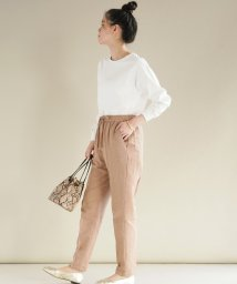 FIKA./FIKA. Linen like Tapered Pants/503075757