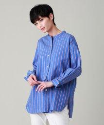 EVEX by KRIZIA/*eclat掲載*NALYAストライプシャツ/503075980